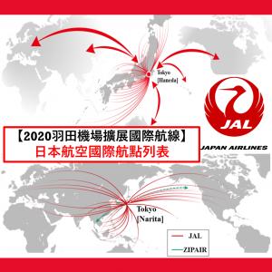 jal航線 日本航空國際航點