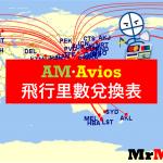 里數換機票 Asia Miles vs Avios 里數兌換表 比較飛行里數計劃 一表睇晒!