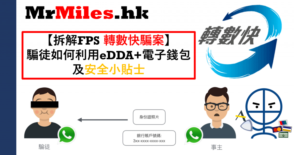 轉數快 FPS騙案 eDDA漏洞