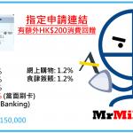 AE Blue Cash信用卡迎新HK$200額外回贈及戲票+平日無上限1.2%現金回贈