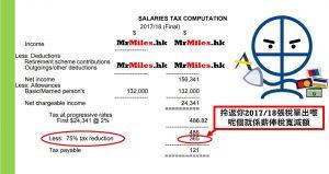政府派4000 稅務寬減額