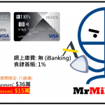DBS Eminent (迎新10%現金回贈+額外$150回贈)Visa Platinum Card/ Visa Signature Card