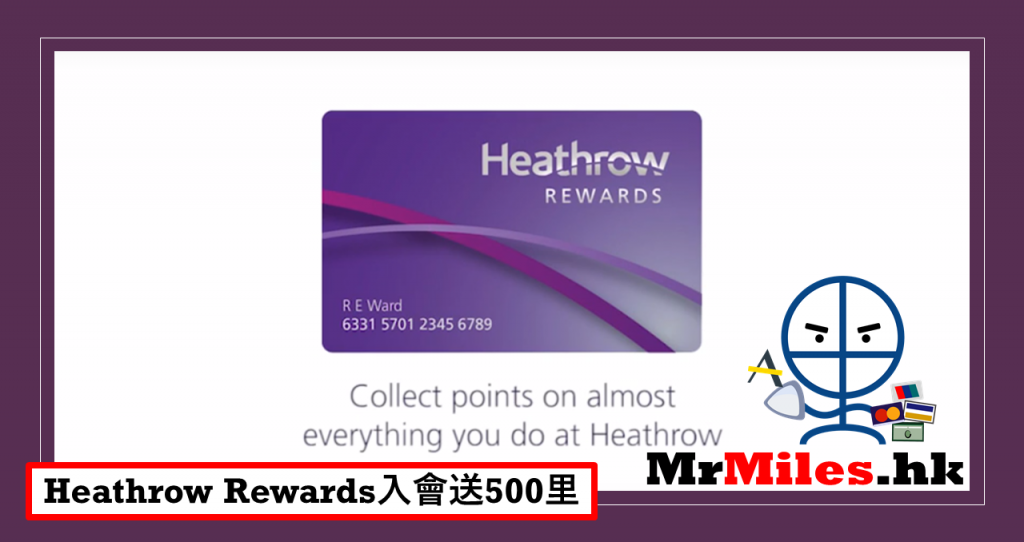 heathrow rewards asia miles