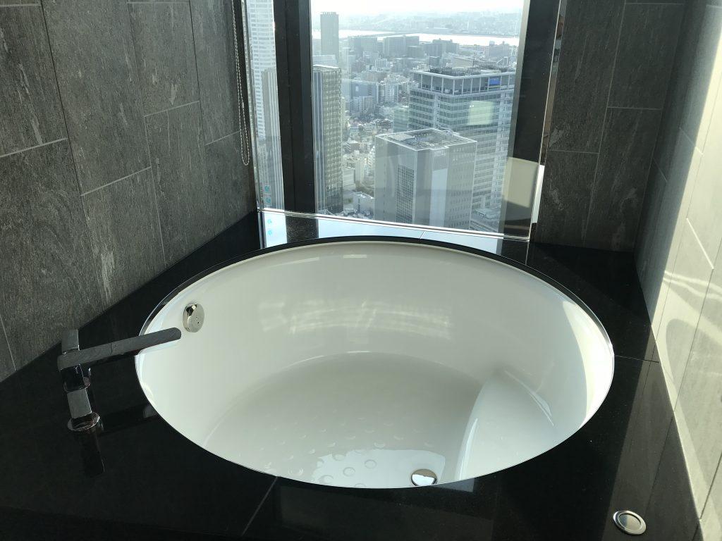 Conrad Osaka-圓型大浴缸