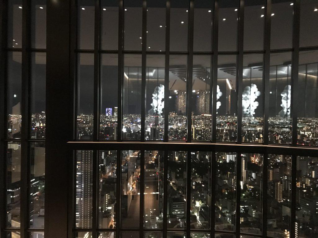 大阪康萊德酒店設施-酒店大堂可盡覽大阪都市景致