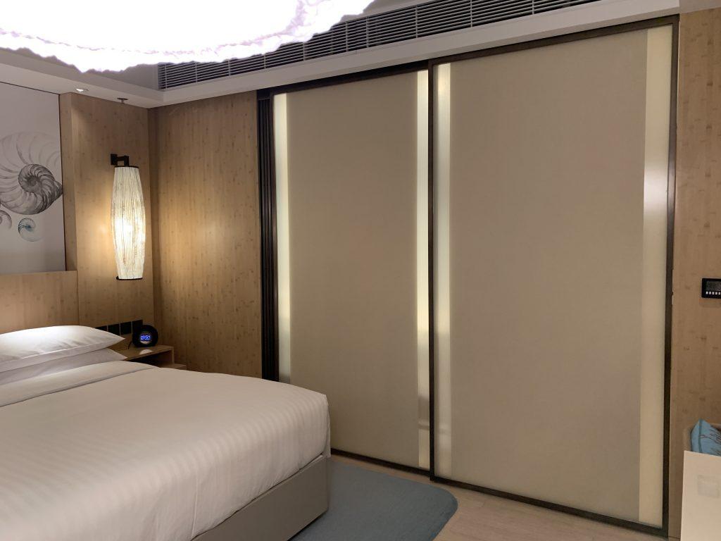 香港海洋公園萬豪酒店-浴室趟門