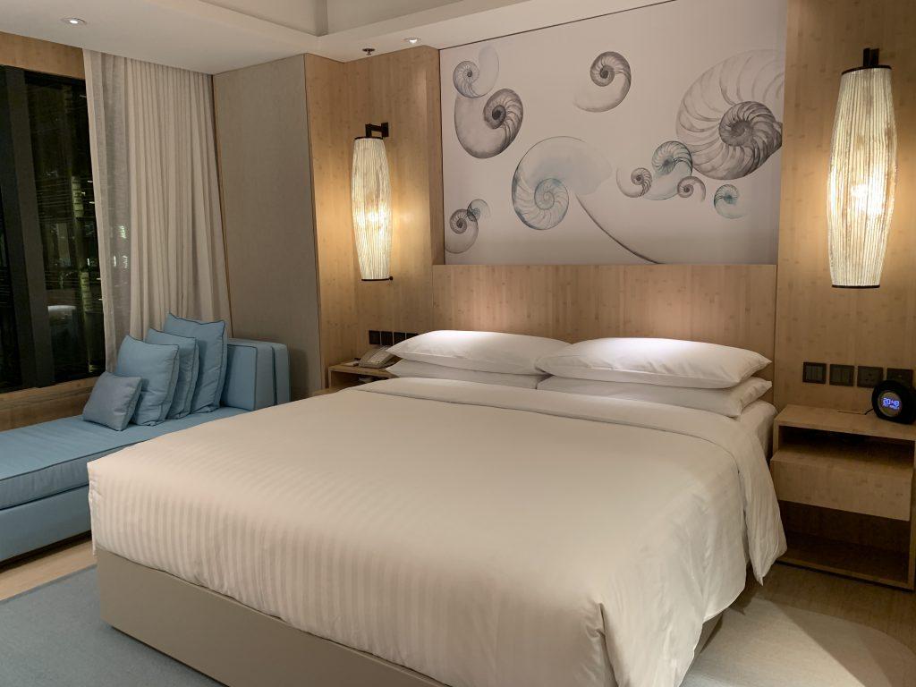 香港海洋公園萬豪酒店-Club Room