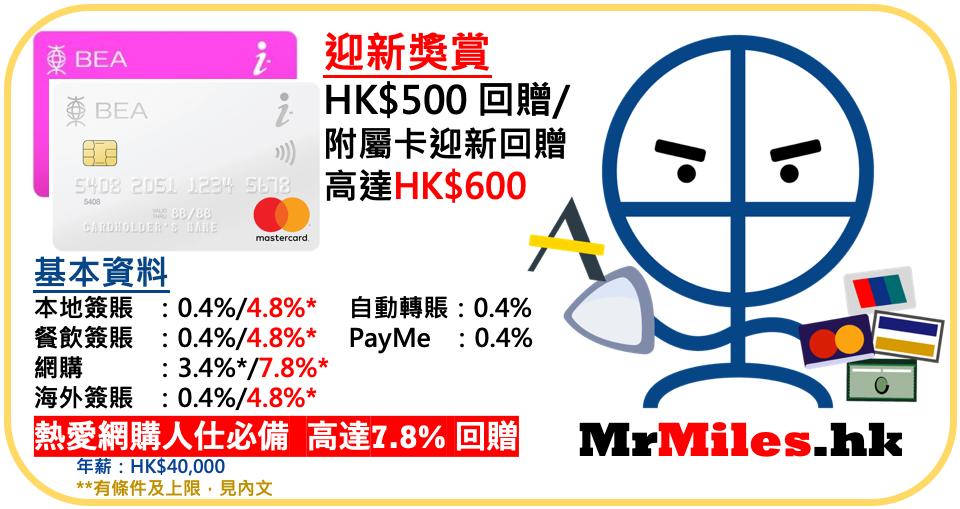 東亞 i-titanium 網購 年薪 年費 迎新