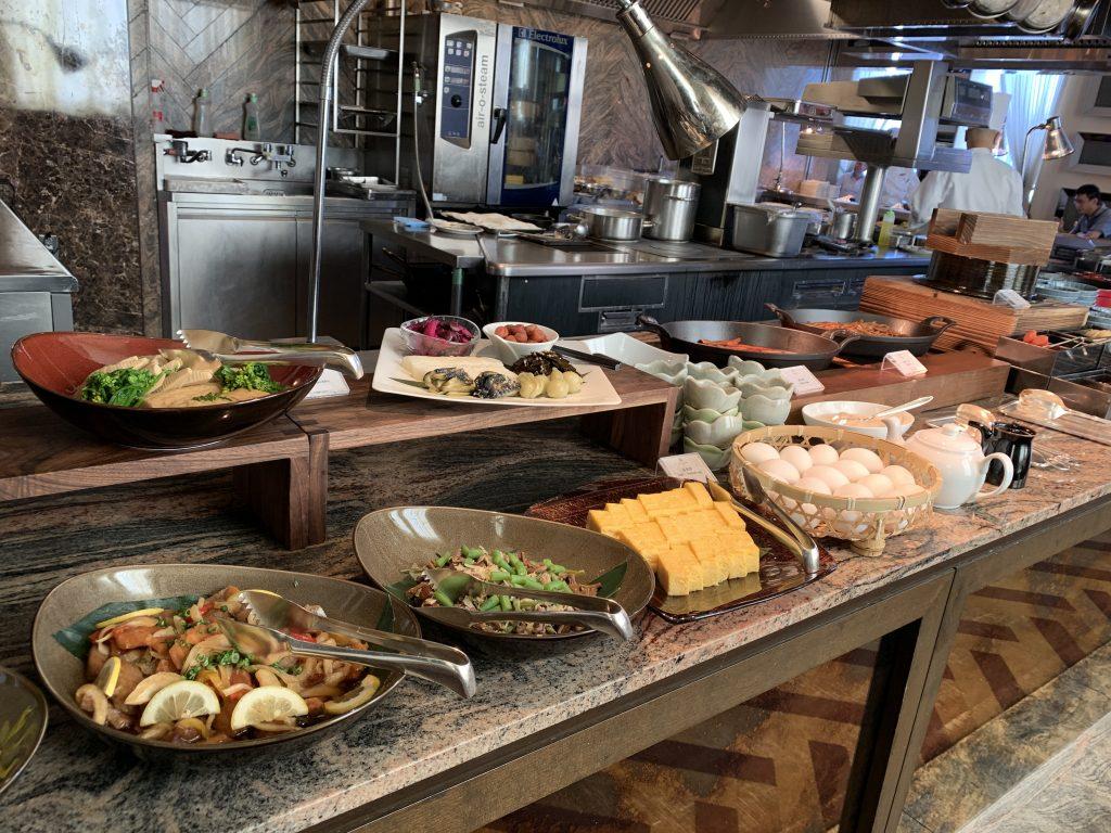 The St. Regis Osaka La Veduta 餐廳-西式醃菜及日式玉子