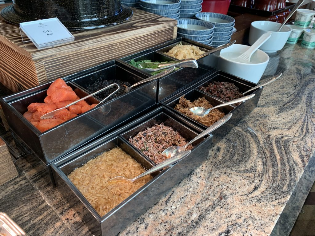 大阪瑞吉酒店La Veduta 餐廳-日式飯及配菜
