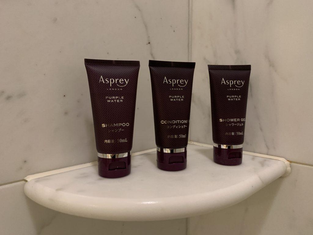 大阪麗思卡爾頓酒店-酒店仍是選用英國品牌Asprey的浴室用品