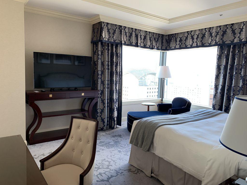 The Ritz-Carlton Osaka-睡房夠寬闊