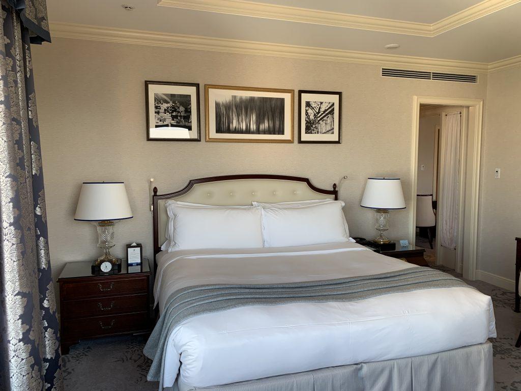 The Ritz-Carlton Osaka-床褥質素高,非常好睡