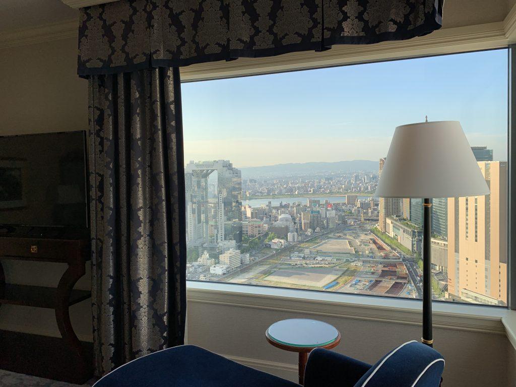 The Ritz-Carlton Osaka-大阪日間都市景色