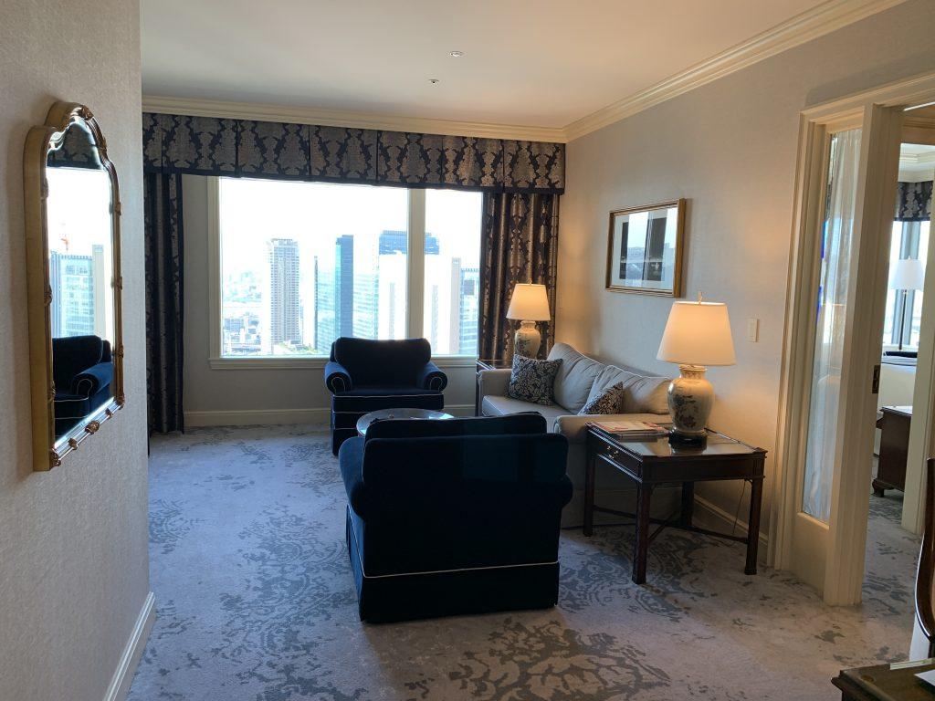 大阪麗思卡爾頓酒店-歡迎來到Executive Suite (Club Suite Room, Club level)