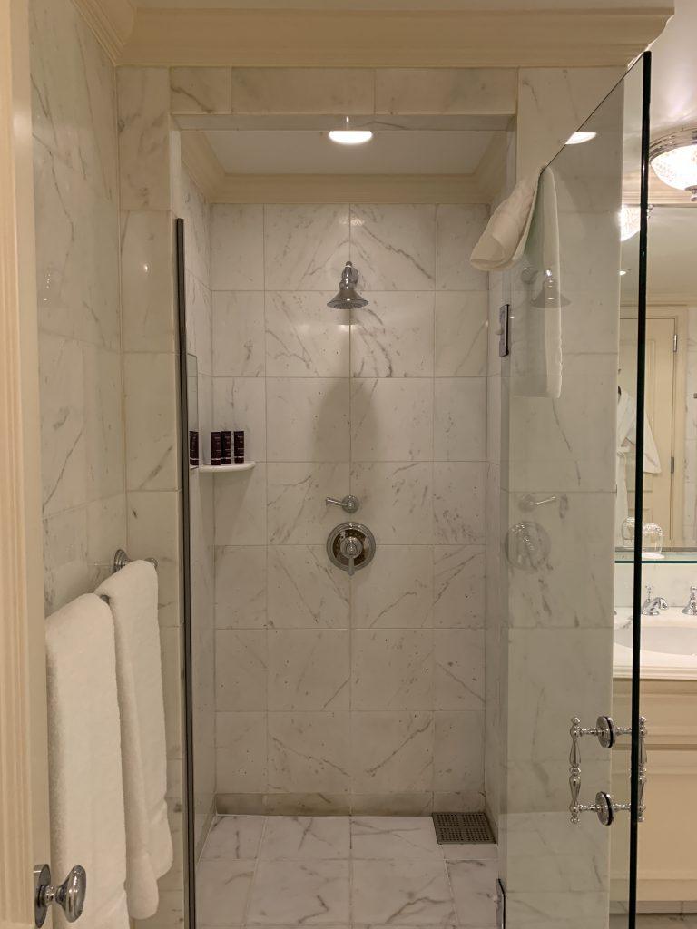 大阪麗思卡爾頓酒店-淋浴間