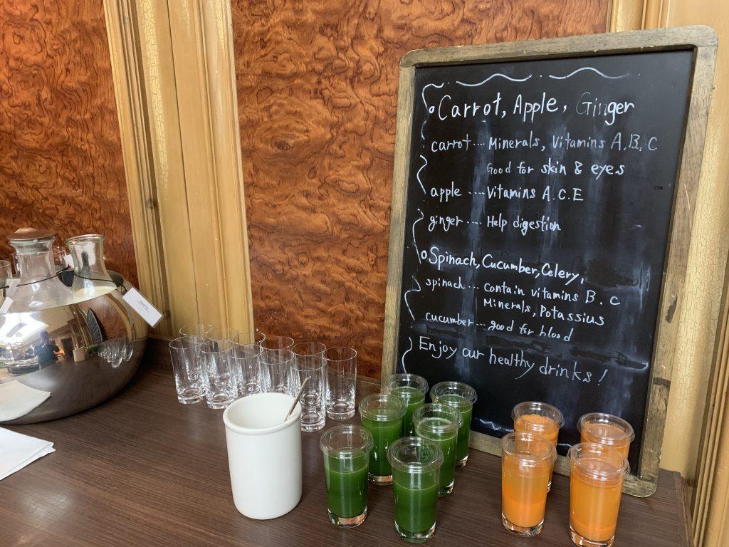 The Ritz-Carlton Osaka Splendido餐廳-各種蔬果汁