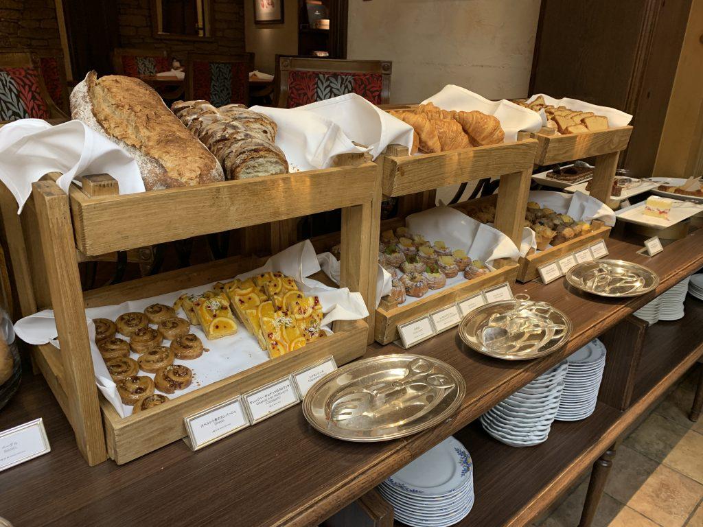 大阪麗思卡爾頓酒店Splendido餐廳-麵包西餅