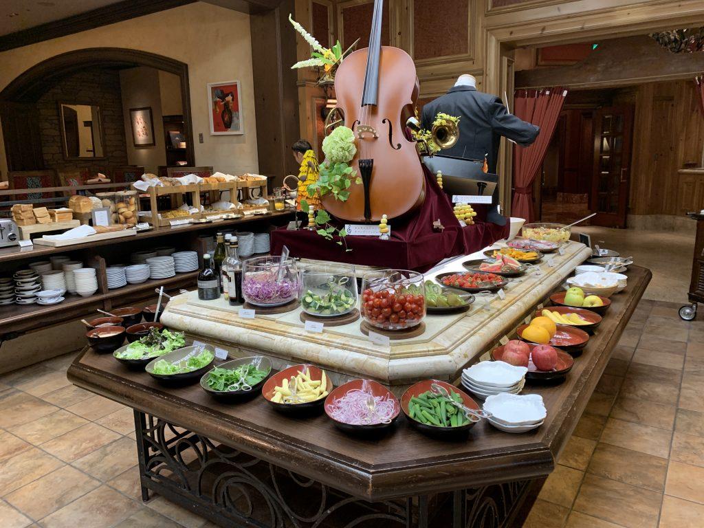 大阪麗思卡爾頓酒店Splendido餐廳-蔬果吧