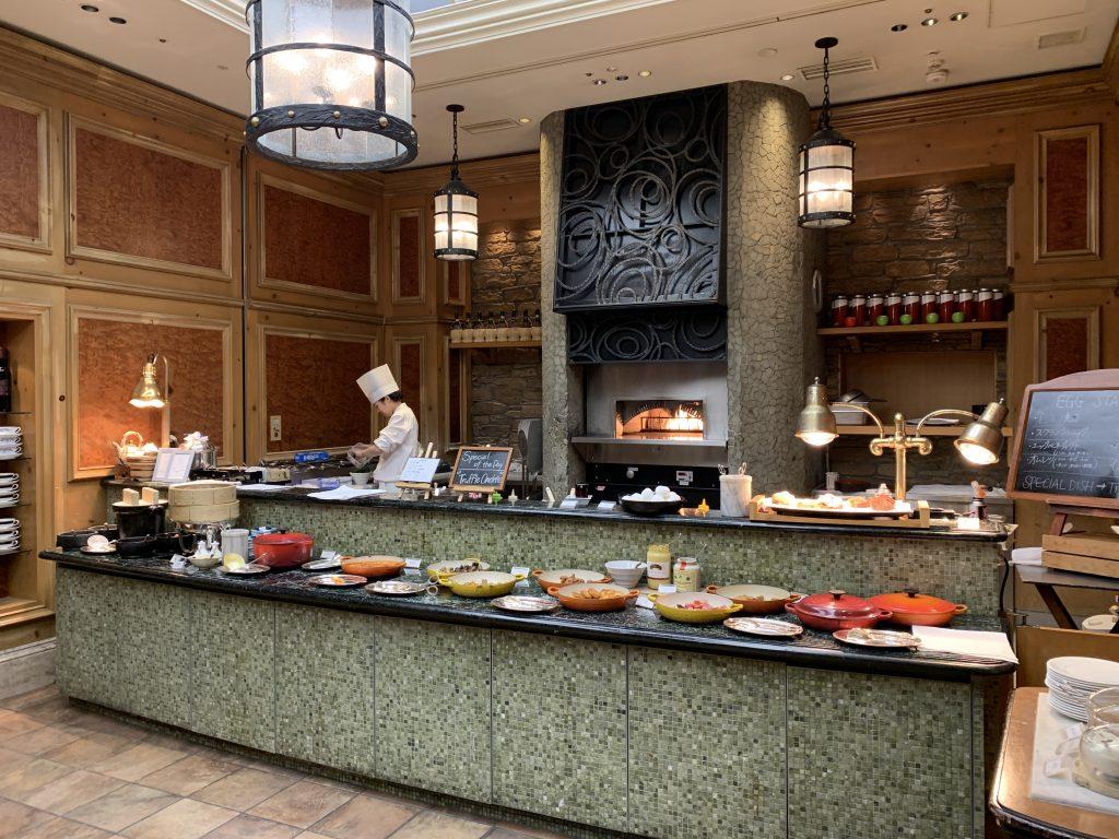 大阪麗思卡爾頓酒店Splendido餐廳-有廚師即席烹調