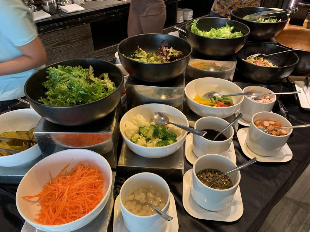 Hilton Sukhumvit Bangkok Scalini 餐廳-西式沙律