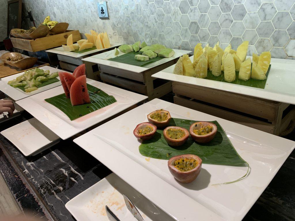 曼谷希爾頓素坤逸酒店Scalini餐廳-時令熱帶水果2