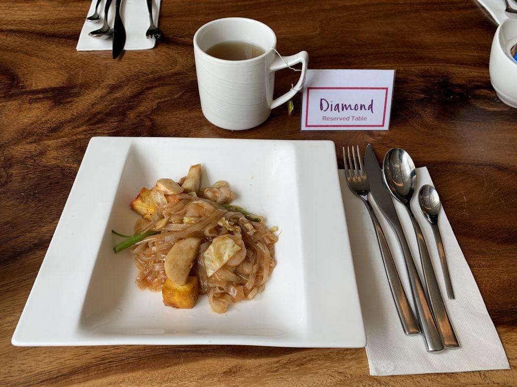 曼谷希爾頓素坤逸酒店Scalini餐廳-是日吃了泰式炒粉早餐