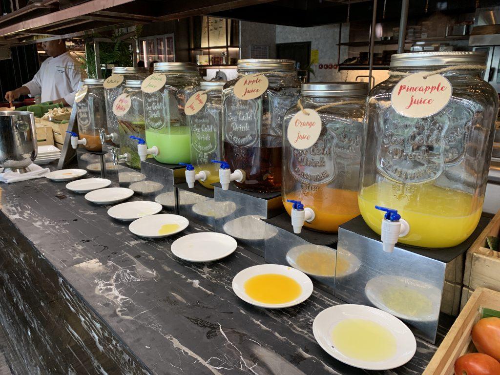曼谷希爾頓素坤逸酒店Scalini餐廳-鮮榨果汁吧