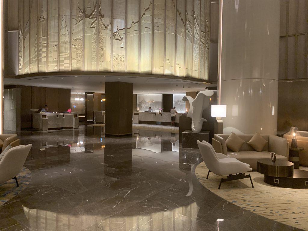 曼谷港麗酒店-酒店大堂