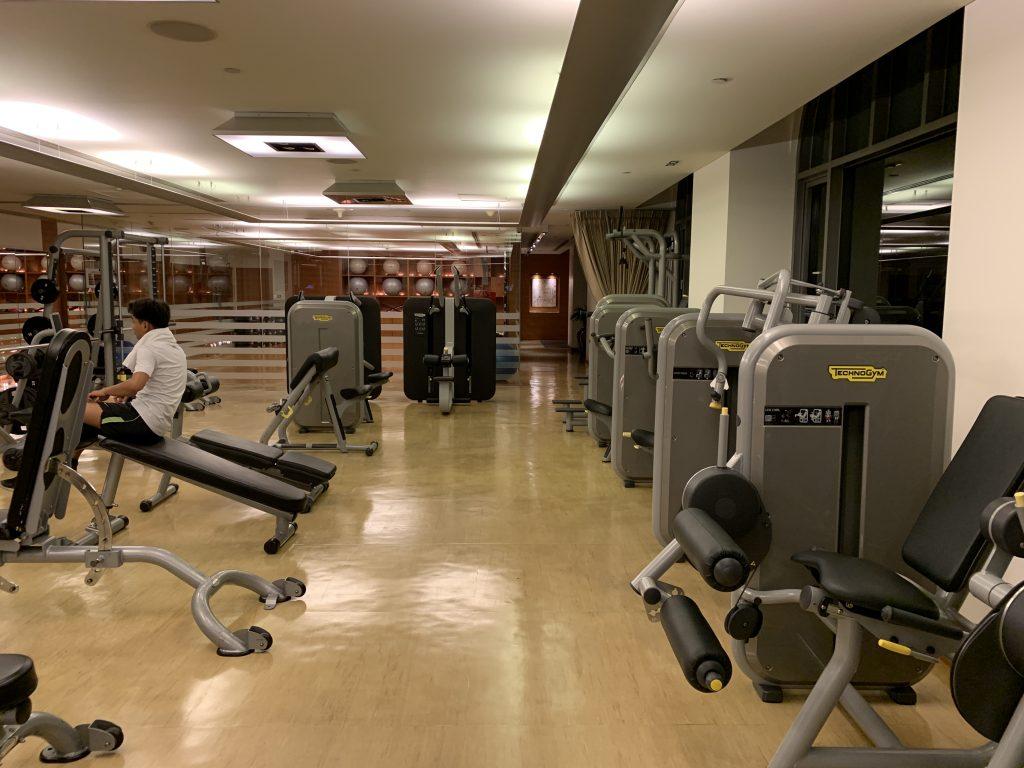 曼谷港麗酒店-健身室Bodyworx