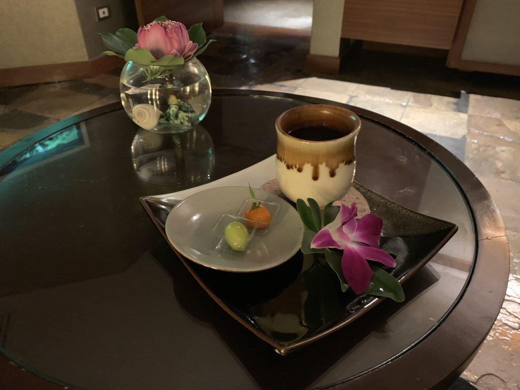 曼谷港麗酒店-可以喝茶吃茶點