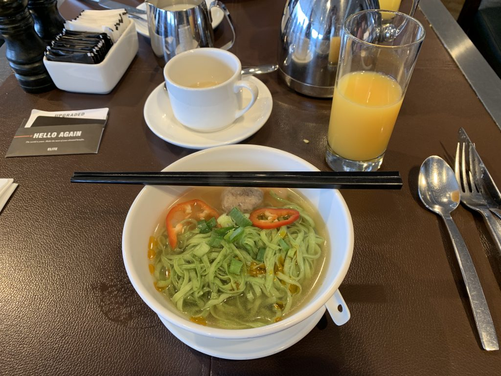 Hong Kong SkyCity Marriott Hotel SkyCity Bistro-是日早餐2