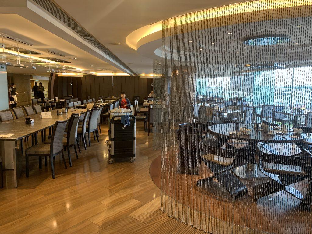香港天際萬豪酒店天際咖啡室-餐廳環境