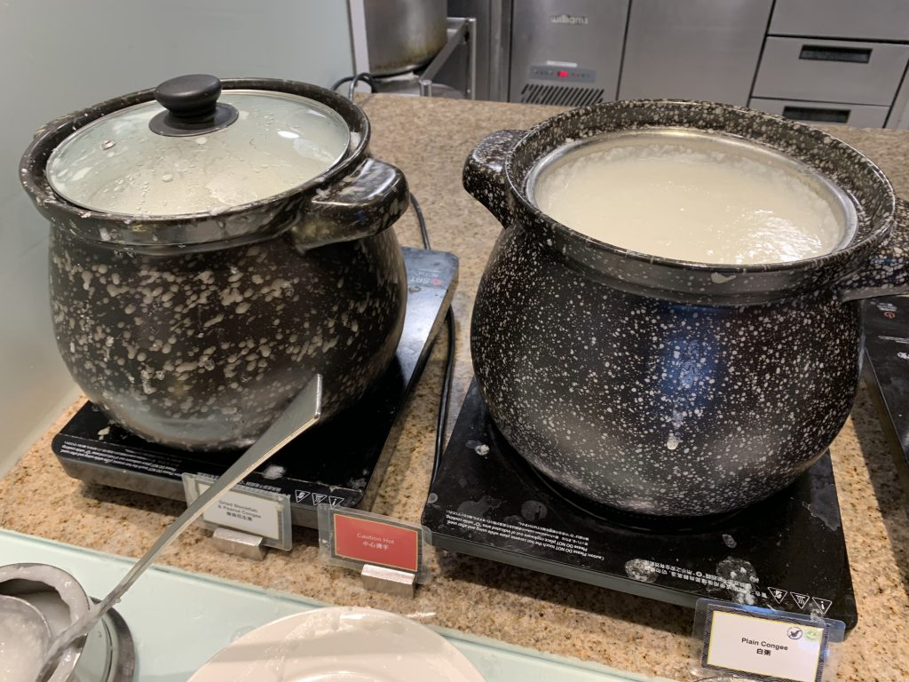 香港天際萬豪酒店天際咖啡室-中式粥品