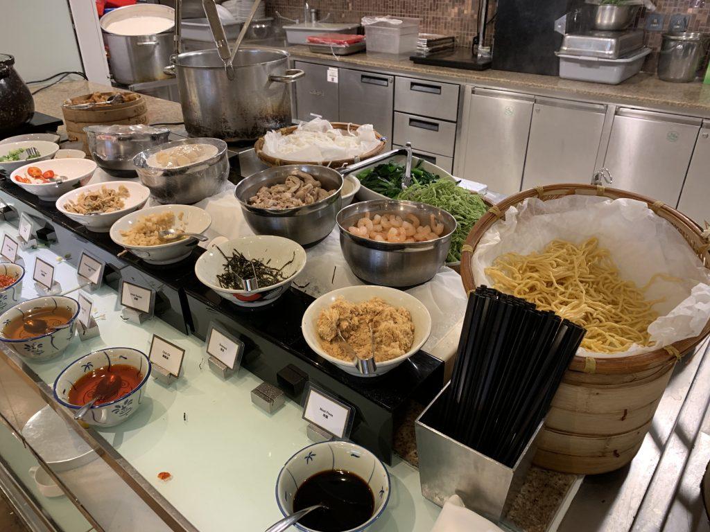 香港天際萬豪酒店天際咖啡室-東南亞粉麵
