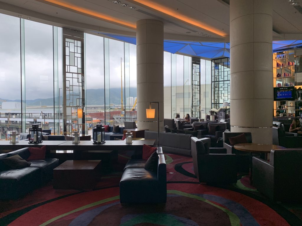 香港天際萬豪酒店-位於酒店一樓的The Lounge酒廊
