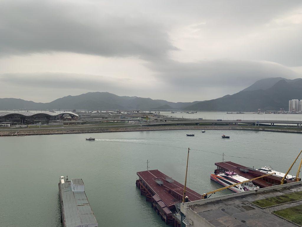 香港天際萬豪酒店-港珠澳大橋人工島景色