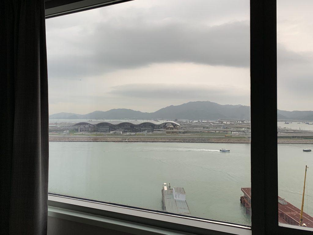 香港天際萬豪酒店-可眺望港珠澳大橋人工島景致