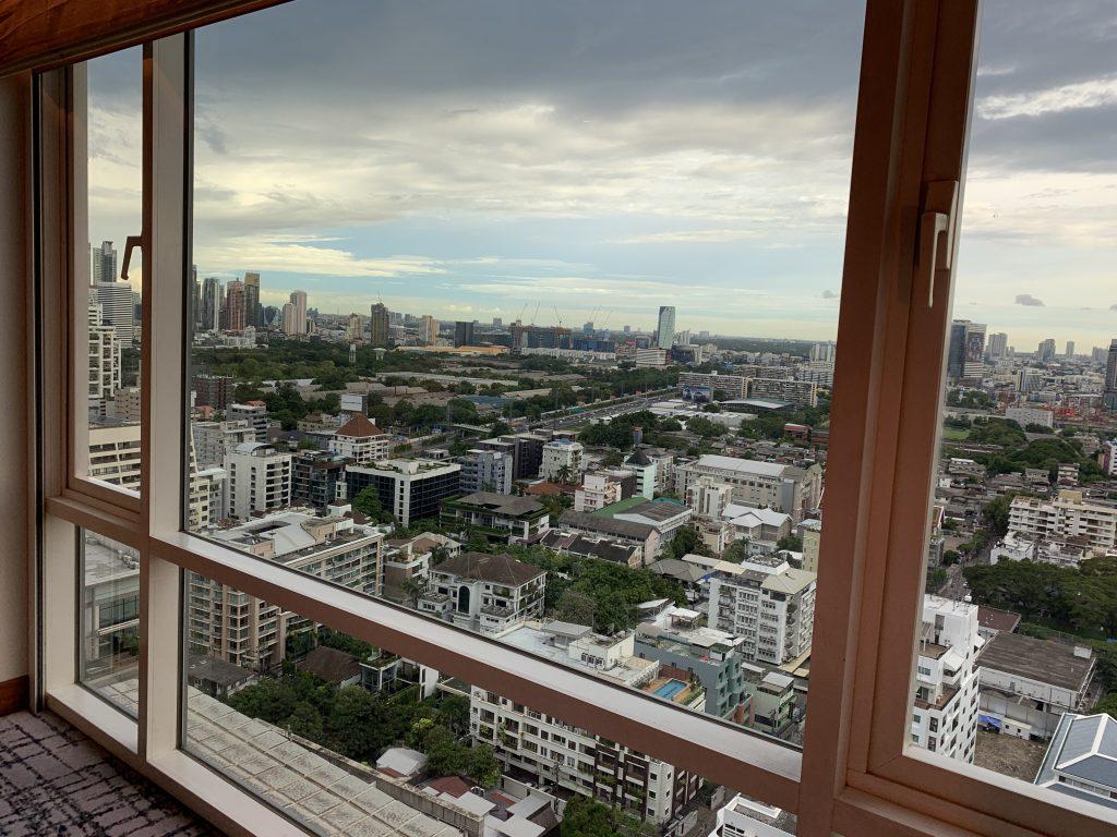 曼谷港麗酒店-房間所在景色