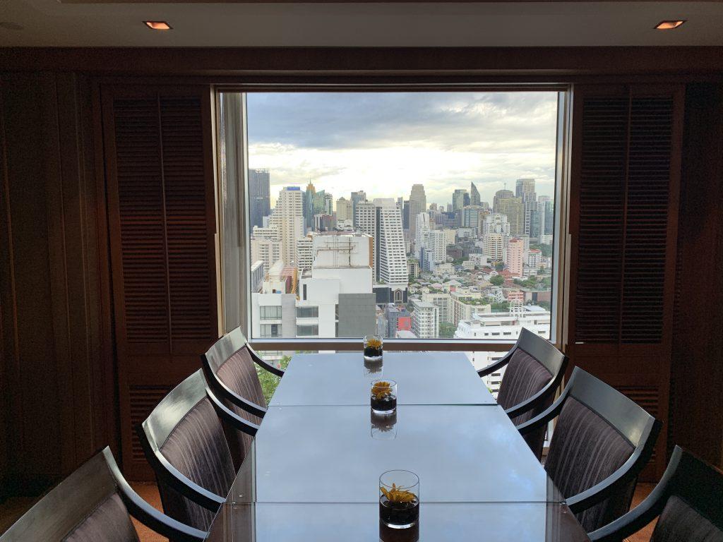Executive Lounge-看到曼谷都市景色
