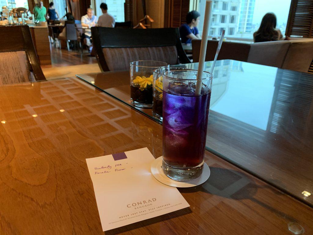 飲杯蝶豆花Welcome drink,人生一樂也!