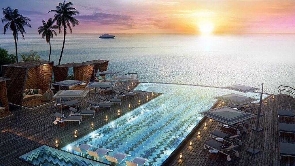 JW Marriott Maldives Resort & Spa- Horizon Pool泳池(圖:萬豪官網)