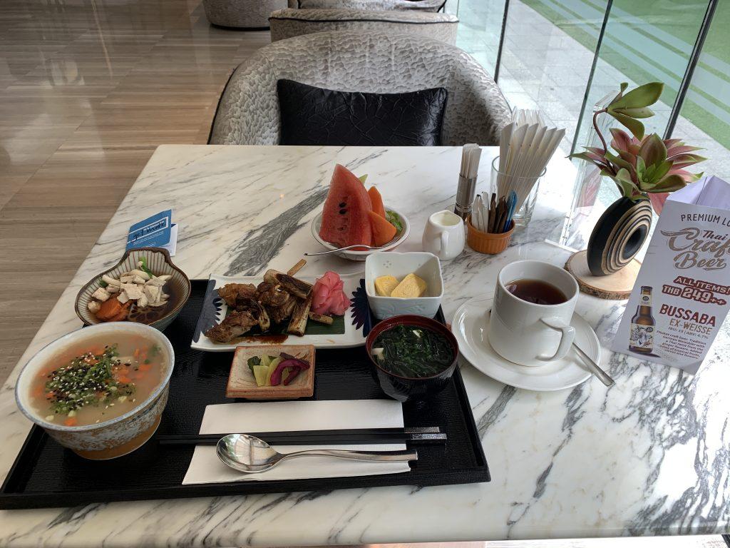 Hilton Sukhumvit Bangkok Mondo餐廳-日式朝食套餐賣相尚算豐富
