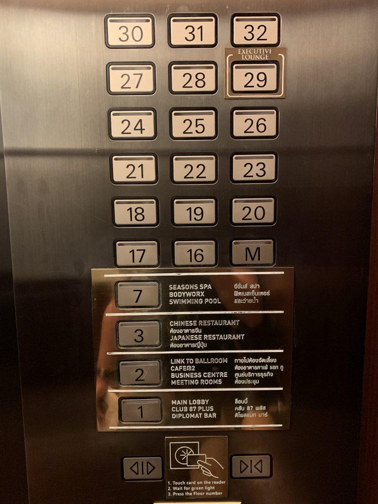 曼谷港麗酒店-樓高32層