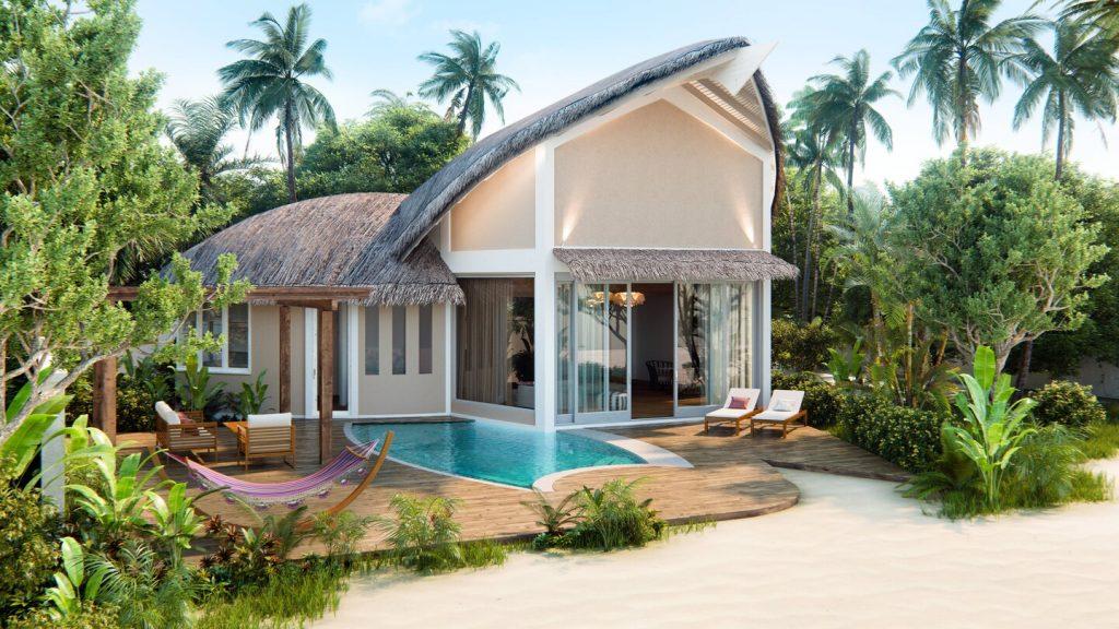 Beach Pool Villa外型 (圖:萬豪官網)