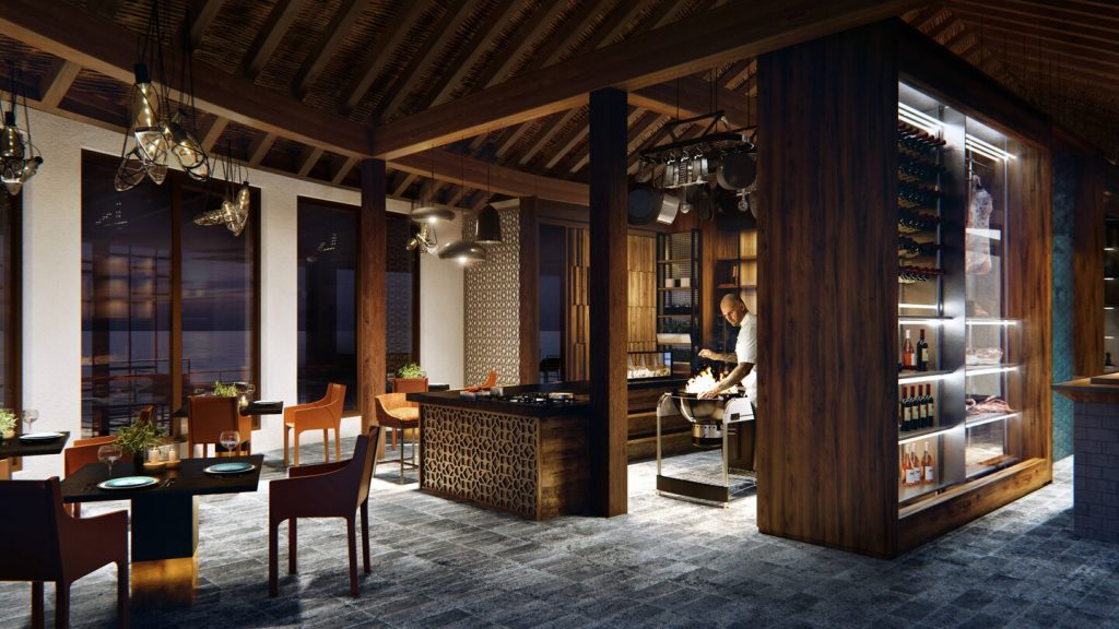 JW Marriott Maldives Resort & Spa- Shio 燒烤海鮮和頂級牛排