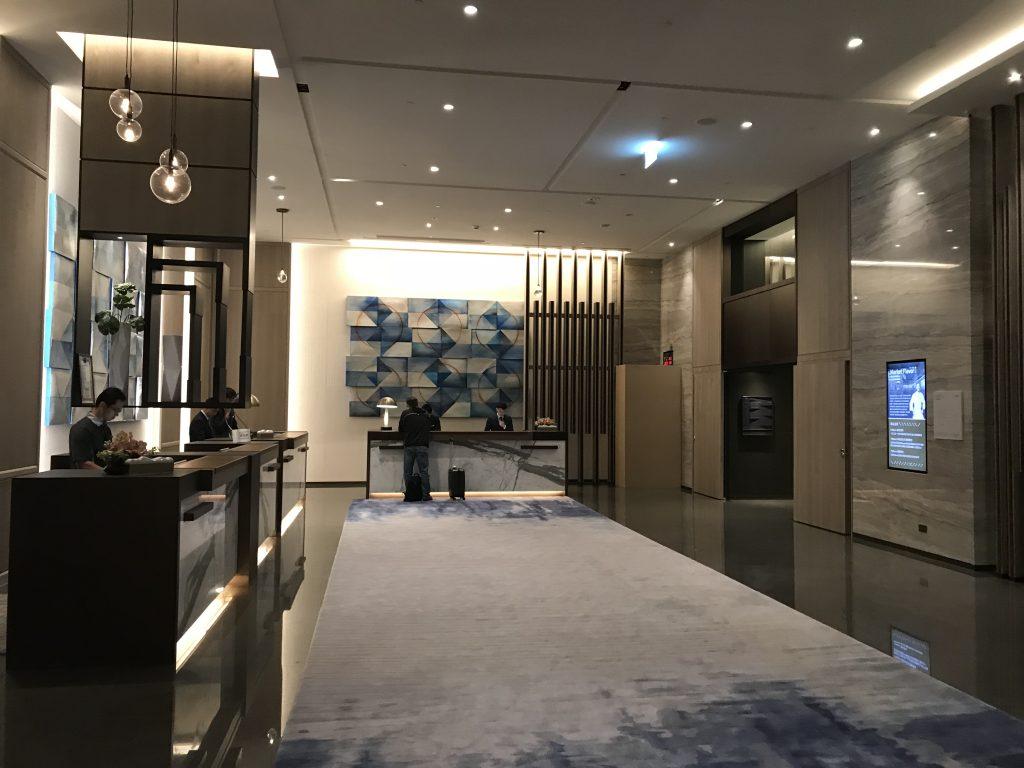 Hilton Taipei Sinban設施-酒店接待處