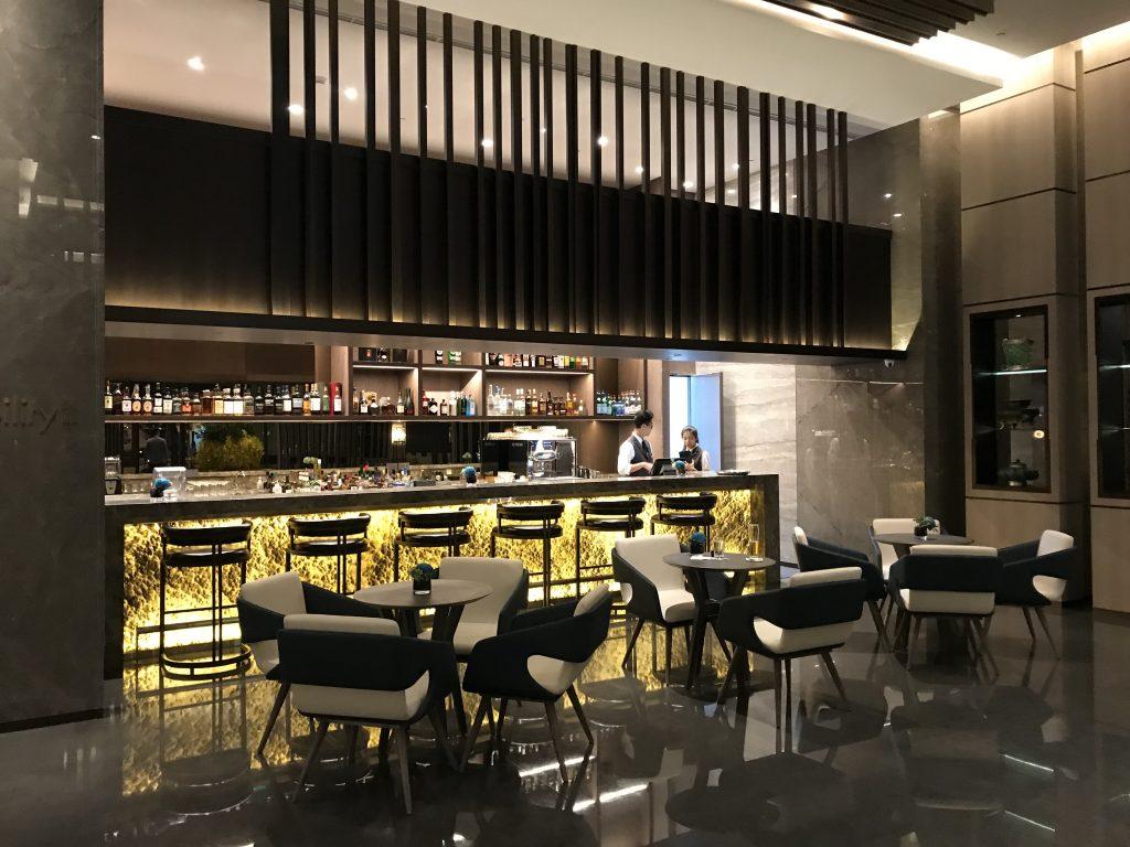 Hilton Taipei Sinban設施-酒店大堂酒吧逸廊SociAbility