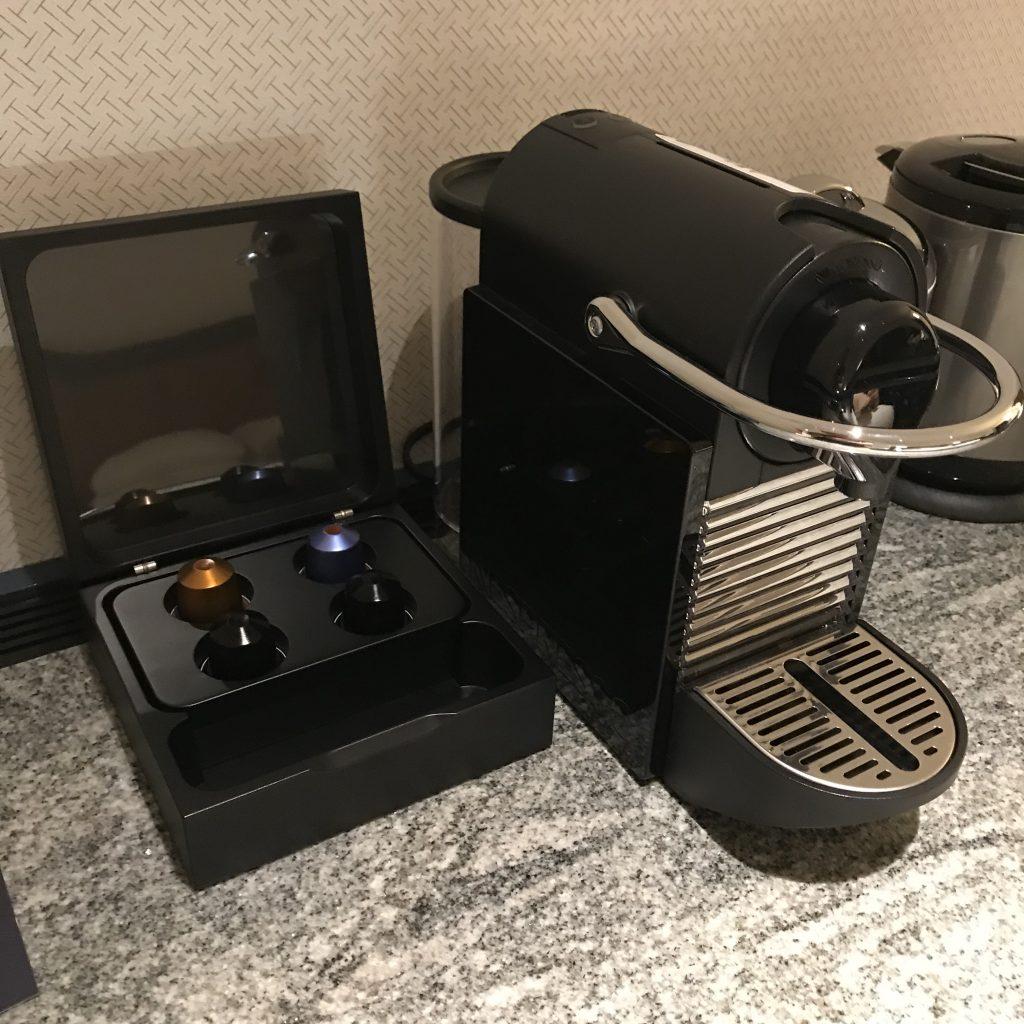 名古屋希爾頓酒店-Nespresso咖啡機及咖啡膠囊