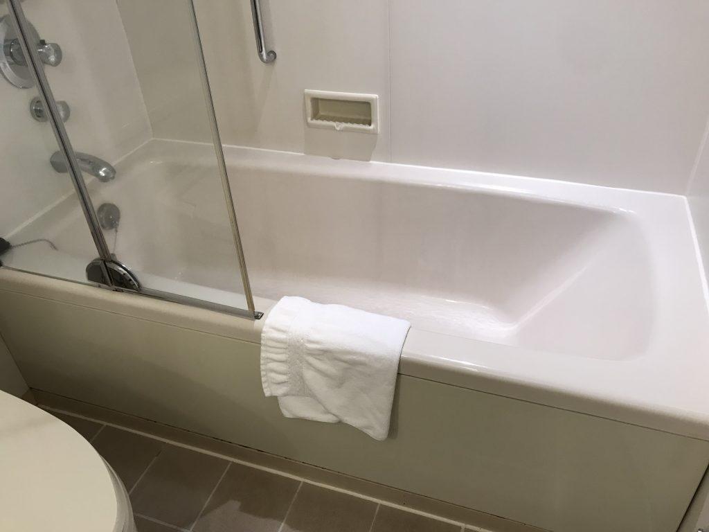 Hilton Tokyo-浴室浴缸